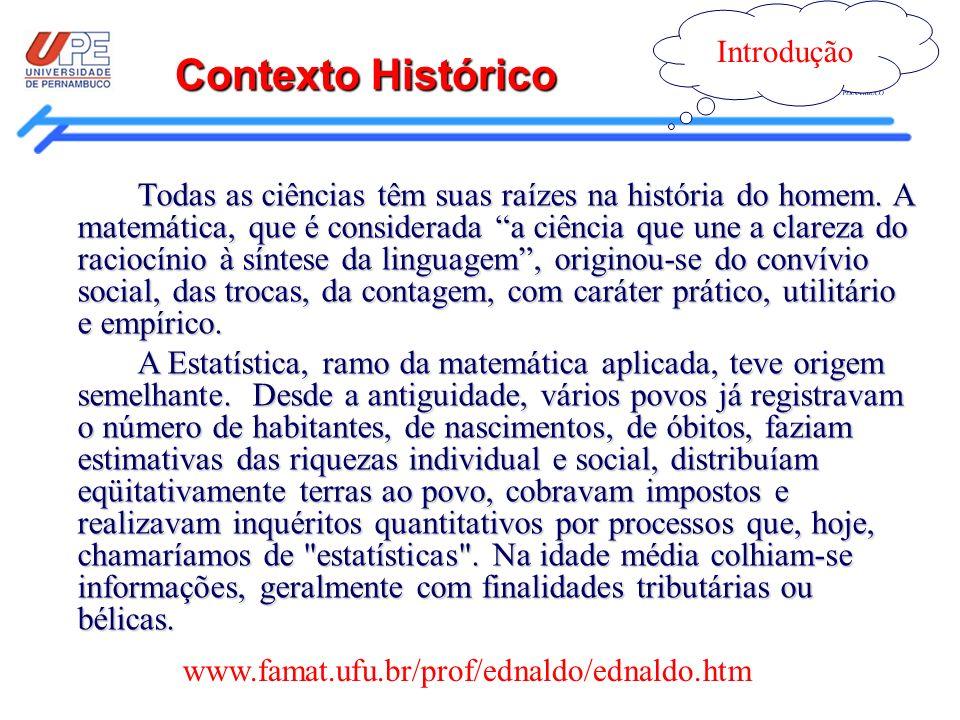 Introdução Contexto Histórico.