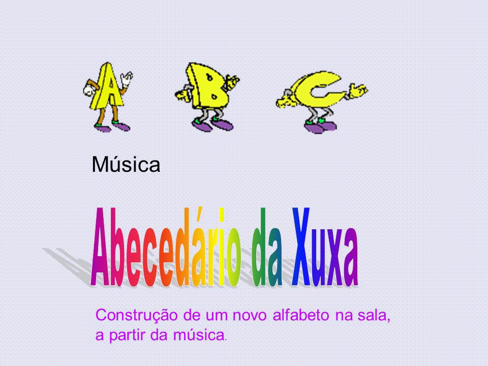 Abecedário da Xuxa Música