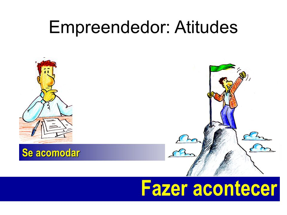 Empreendedor: Atitudes