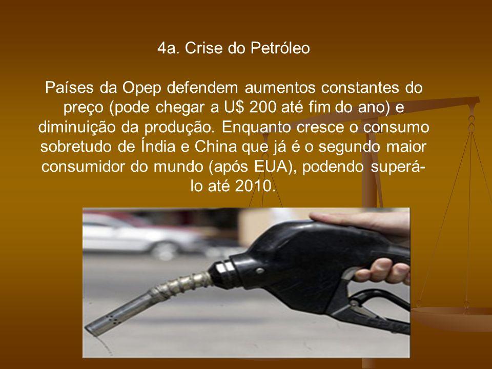 4a. Crise do Petróleo