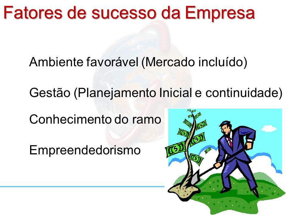 Fatores de sucesso da Empresa