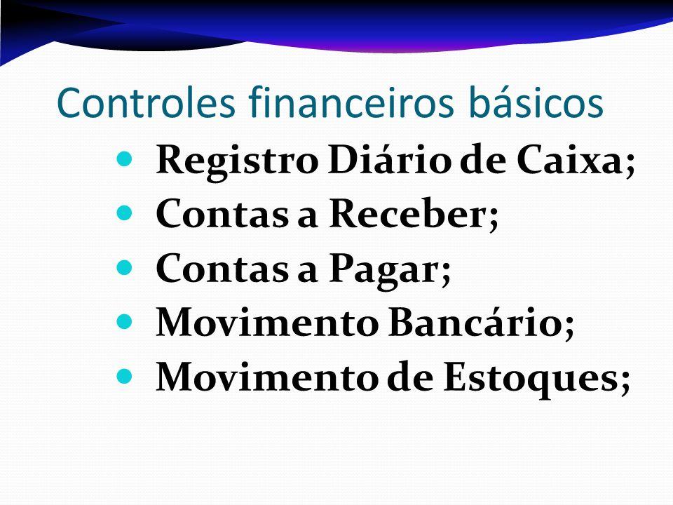 Controles financeiros básicos