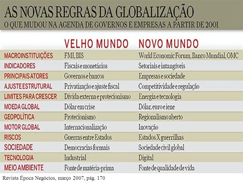 Revista Época Negócios, março 2007, pág. 170
