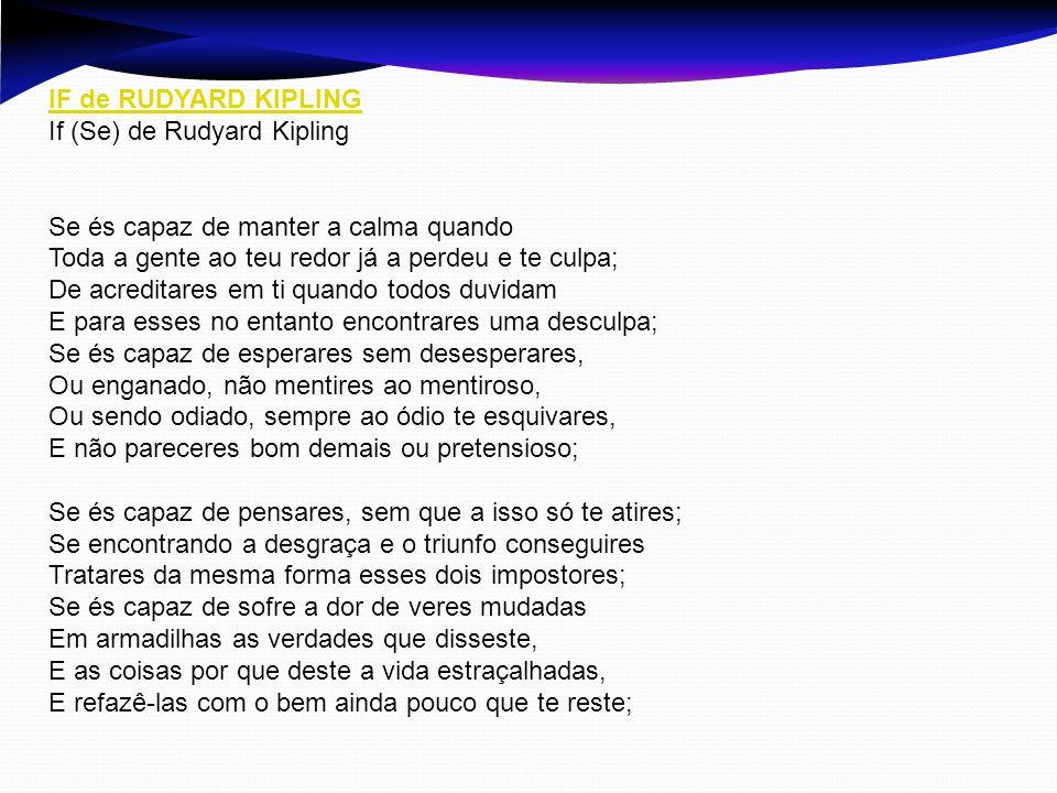 IF de RUDYARD KIPLING