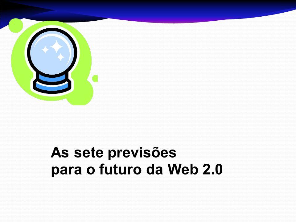 As sete previsões para o futuro da Web 2.0