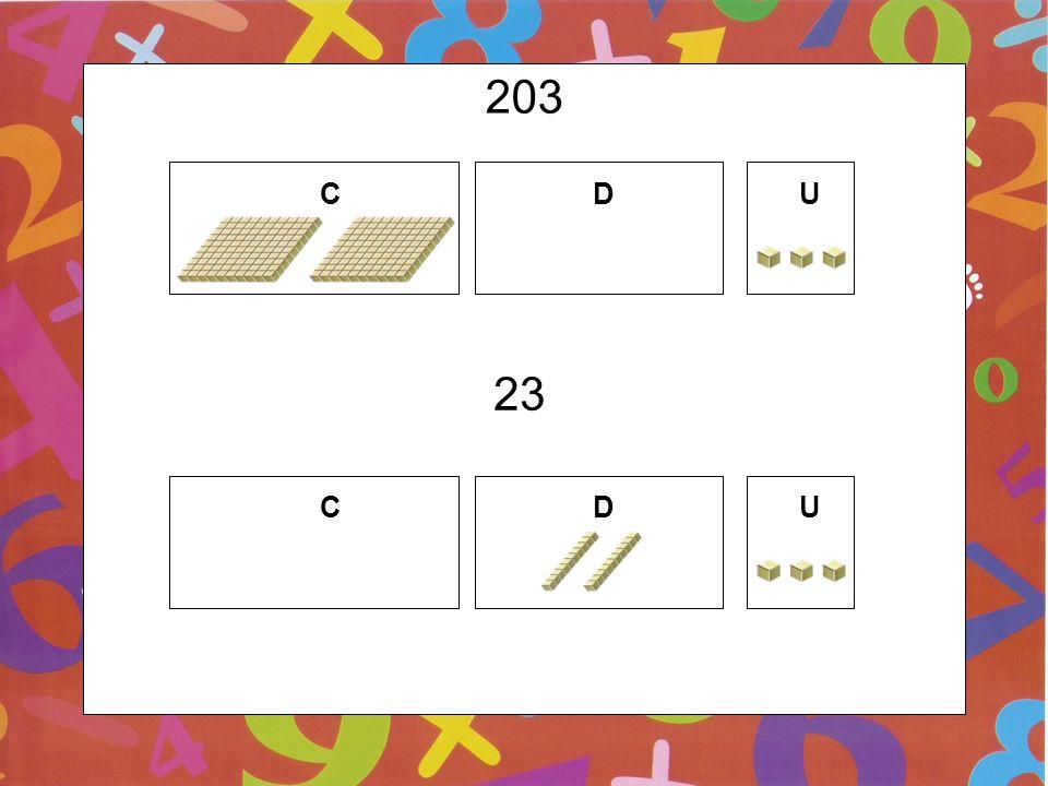 203 C D U 23 C D U