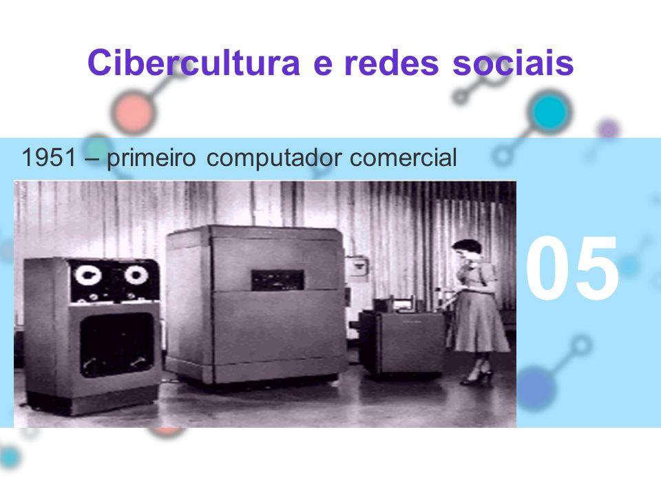 Cibercultura e redes sociais