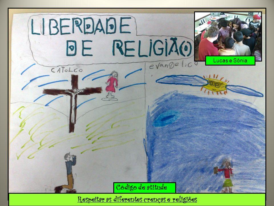 Respeitar as diferentes crenças e religiões