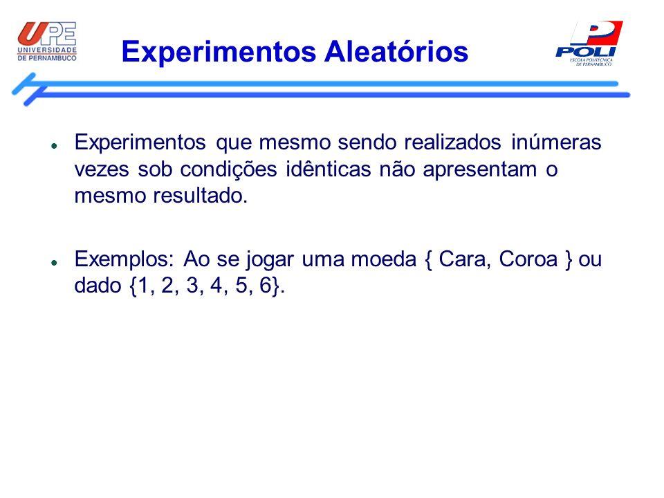 Experimentos Aleatórios
