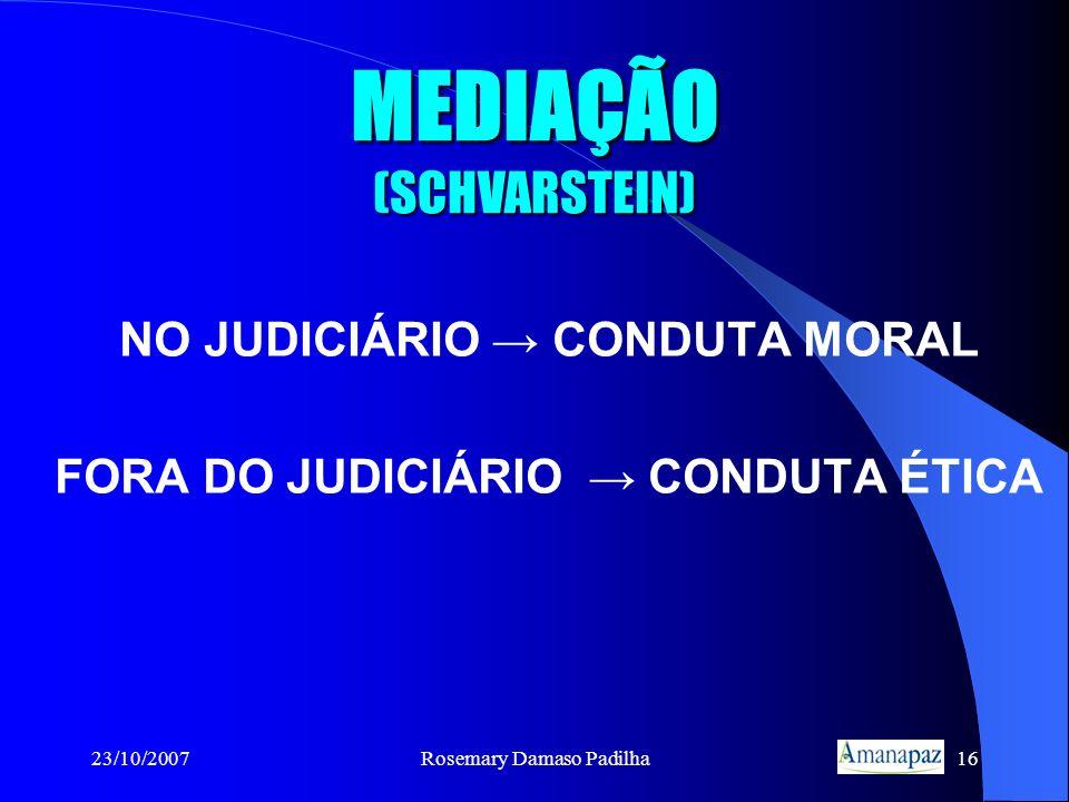 MEDIAÇÃO (SCHVARSTEIN)