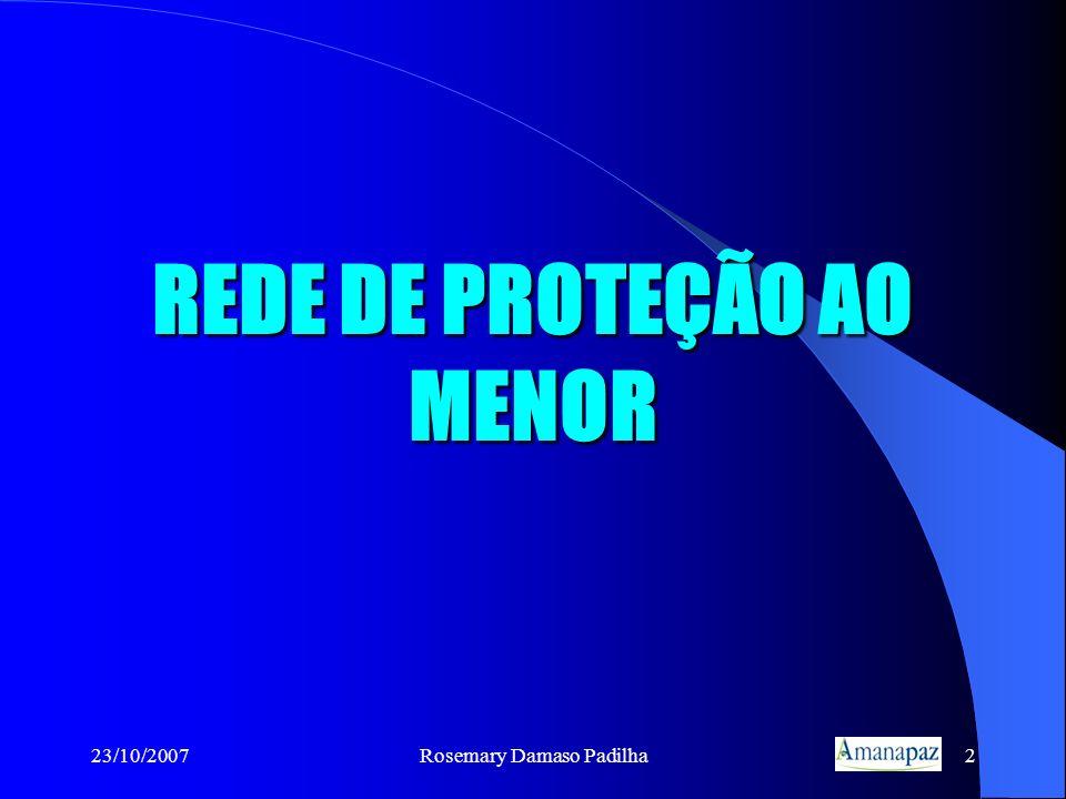 REDE DE PROTEÇÃO AO MENOR