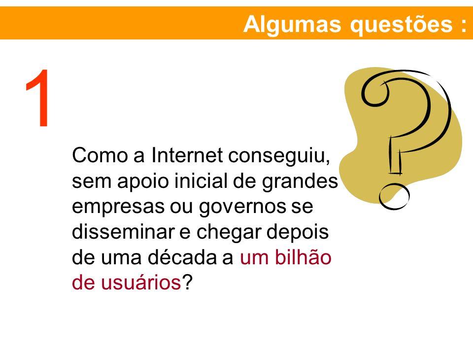 Algumas questões : 1.