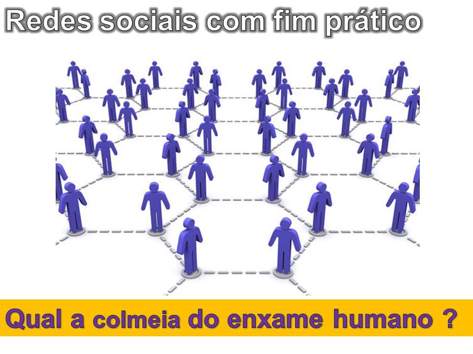 Redes sociais com fim prático