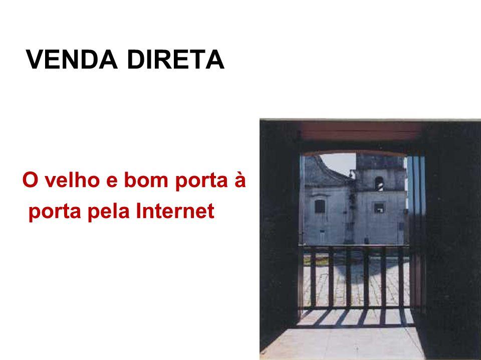 Venda direta O velho e bom porta à porta pela Internet