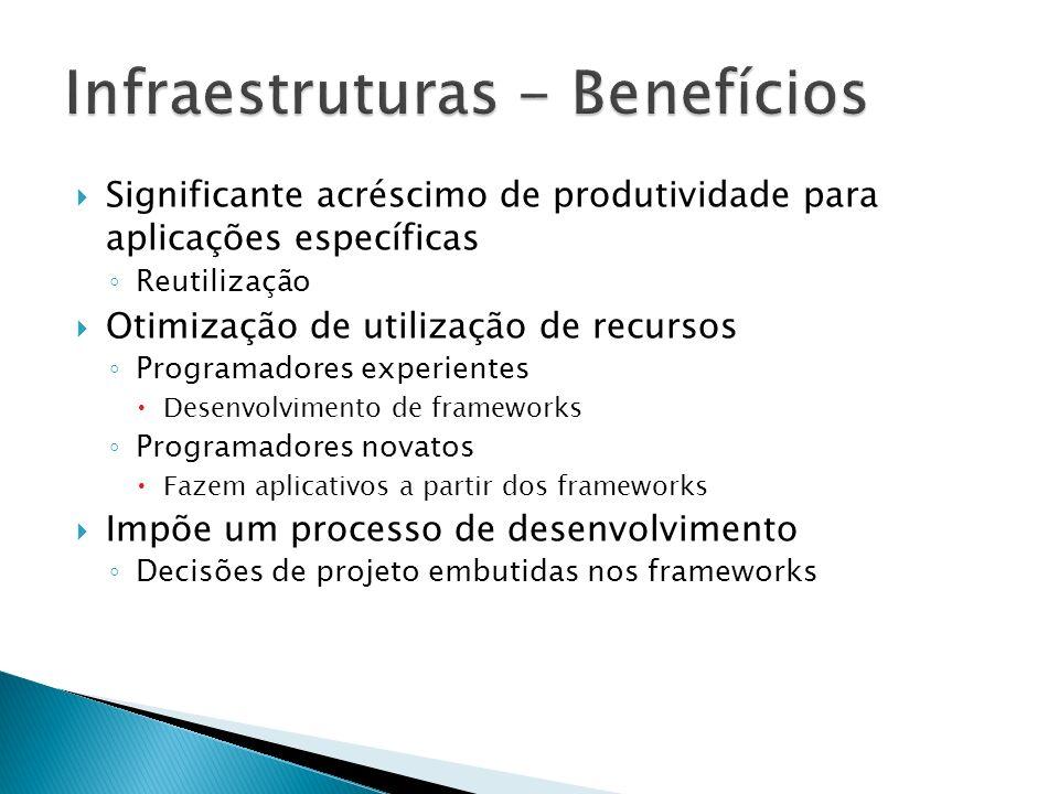 Infraestruturas - Benefícios