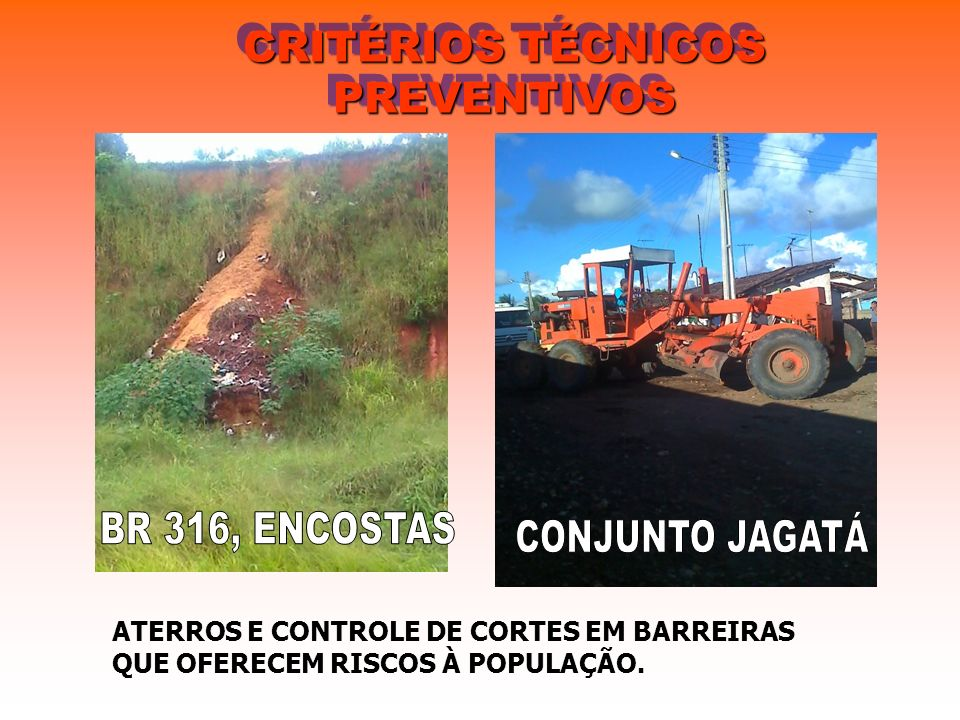 CRITÉRIOS TÉCNICOS PREVENTIVOS