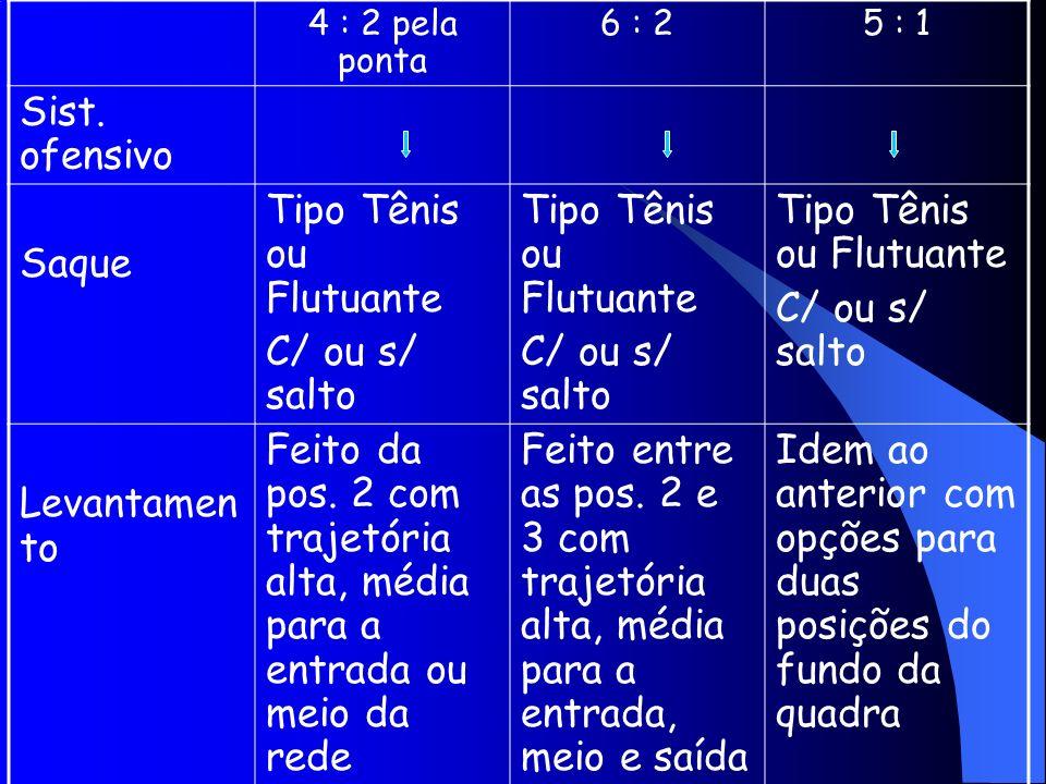 Tipo Tênis ou Flutuante