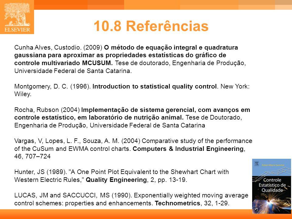 10.8 Referências