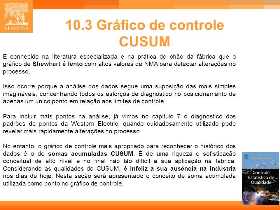 10.3 Gráfico de controle CUSUM