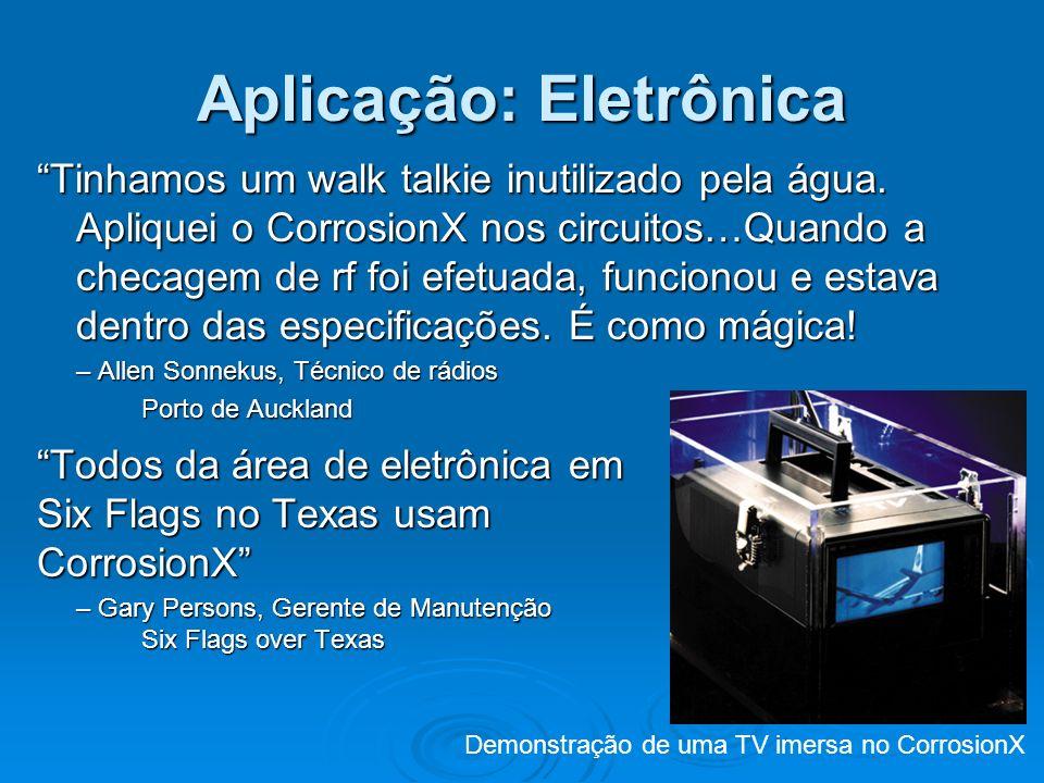 Aplicação: Eletrônica