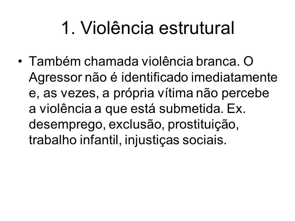 1. Violência estrutural