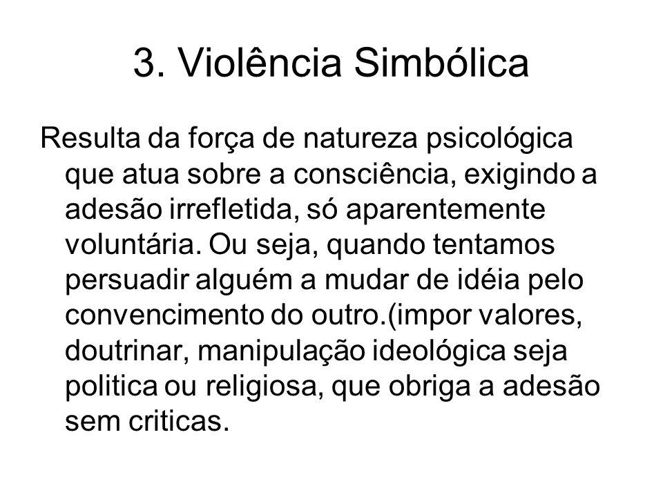 3. Violência Simbólica
