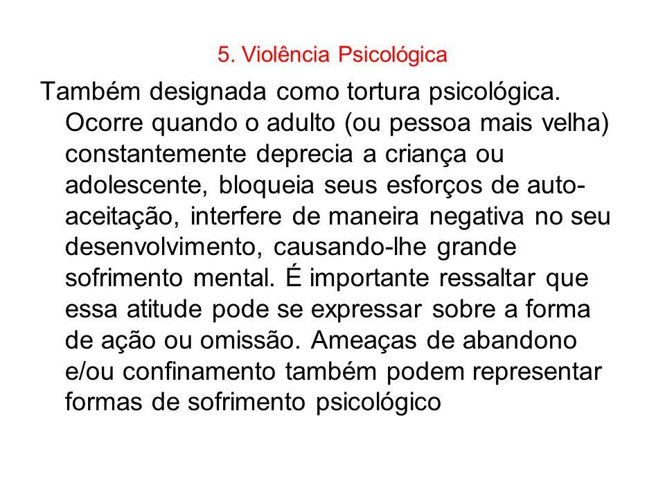 5. Violência Psicológica
