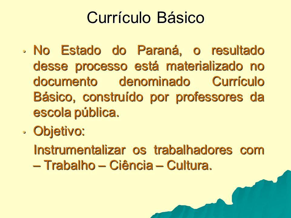 Currículo Básico