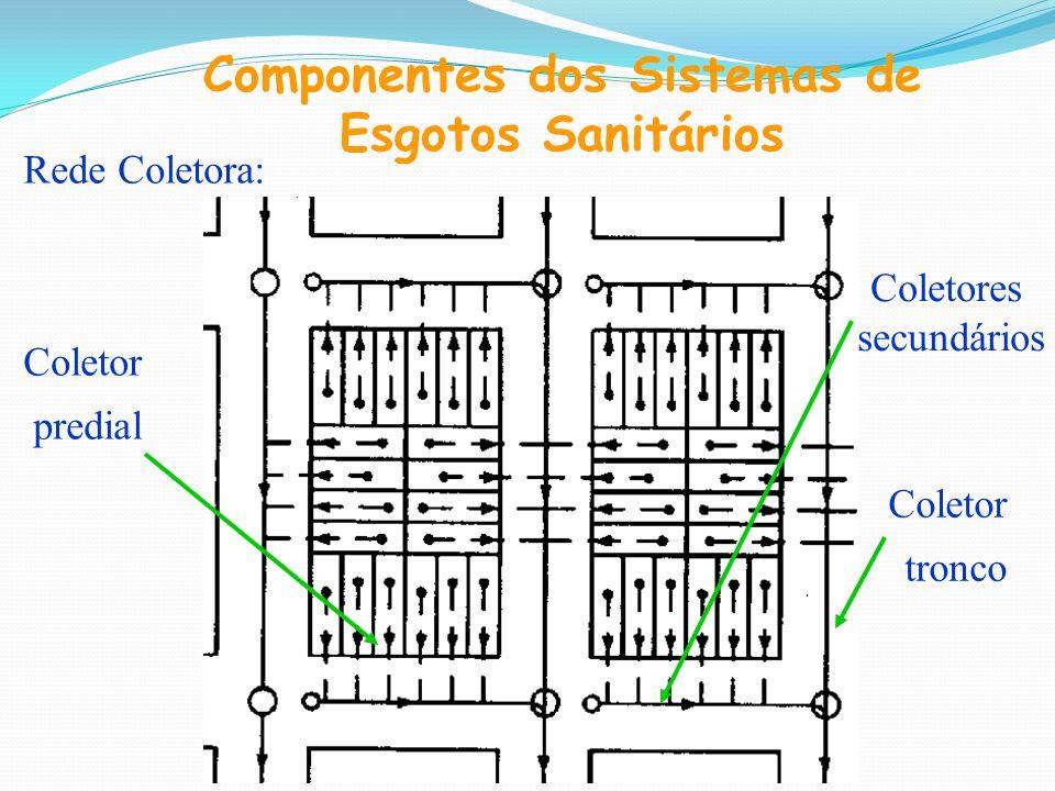 Componentes dos Sistemas de Esgotos Sanitários