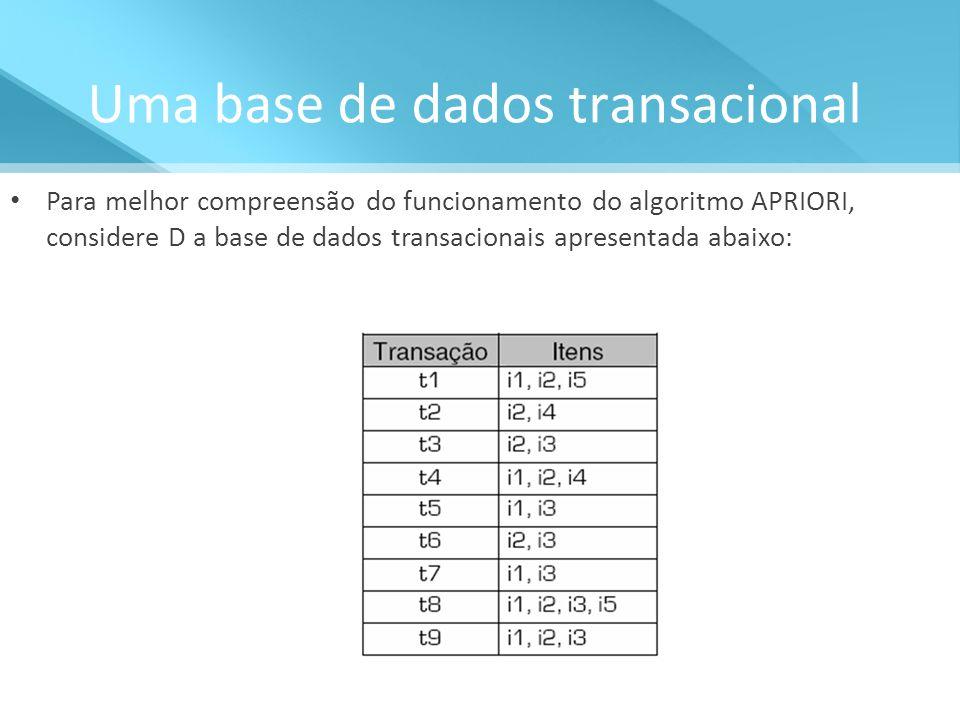 Uma base de dados transacional