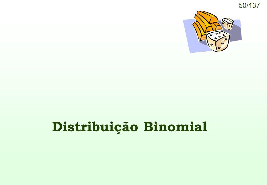 Distribuição Binomial