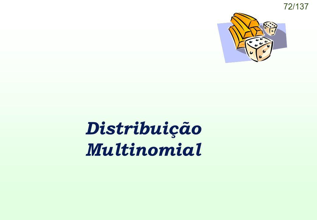 Distribuição Multinomial
