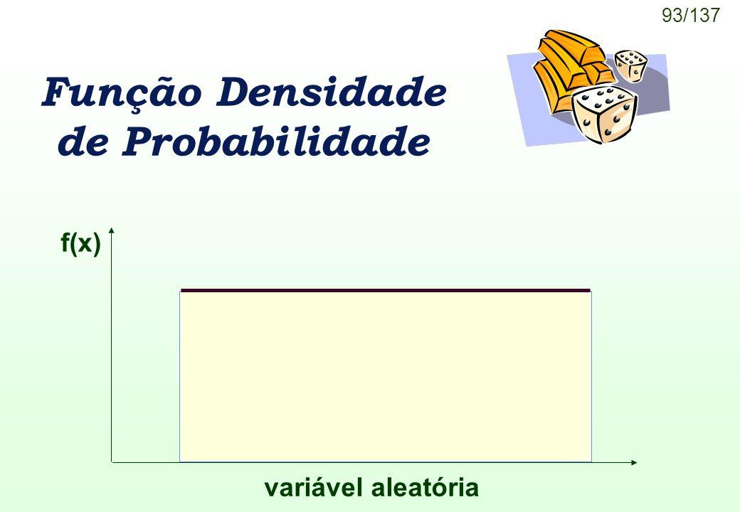 Função Densidade de Probabilidade