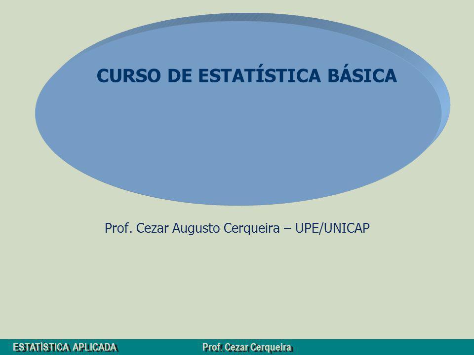 Prof. Cezar Augusto Cerqueira – UPE/UNICAP