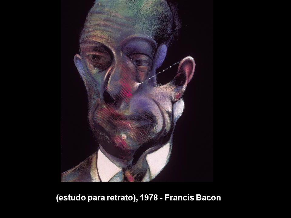 (estudo para retrato), 1978 - Francis Bacon