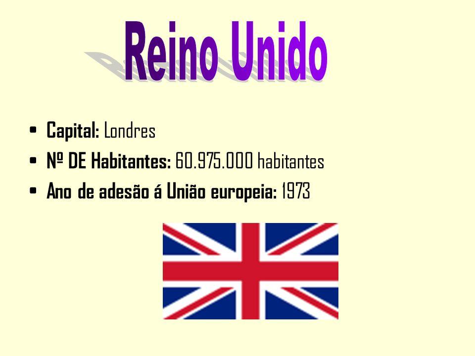Reino Unido Capital: Londres Nº DE Habitantes: 60.975.000 habitantes