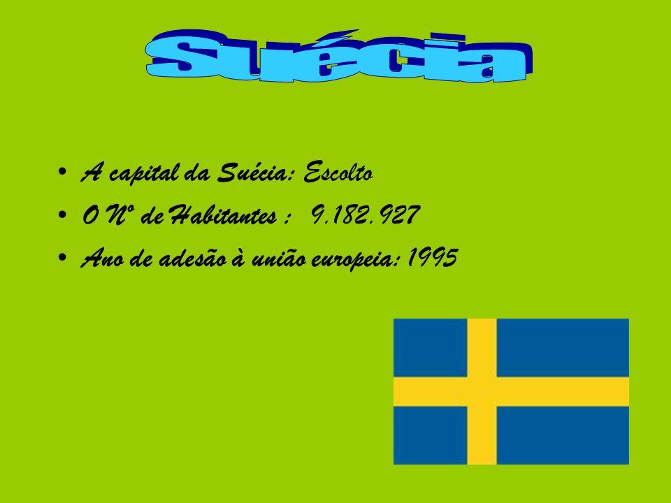 Suécia A capital da Suécia: Escolto O Nº de Habitantes : 9.182.927