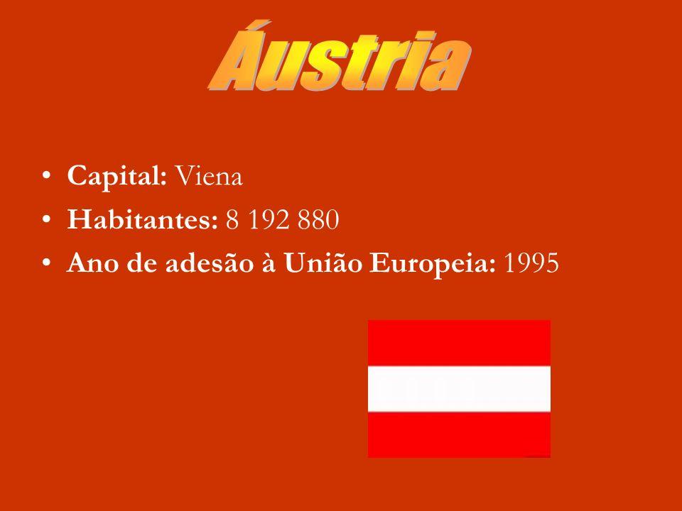 Áustria Capital: Viena Habitantes: 8 192 880