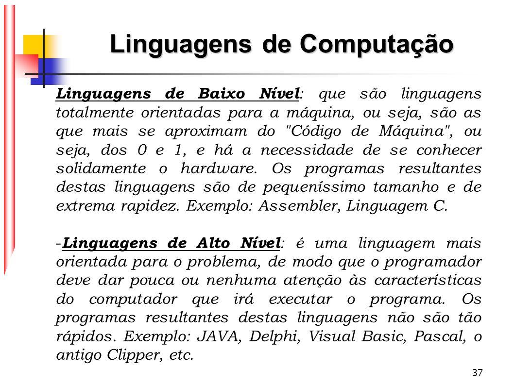 Linguagens de Computação