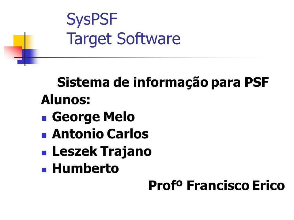 Sistema de informação para PSF
