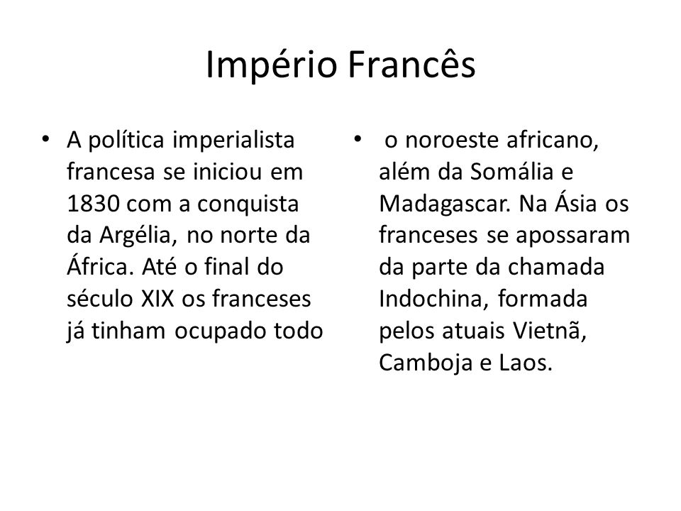 Império Francês