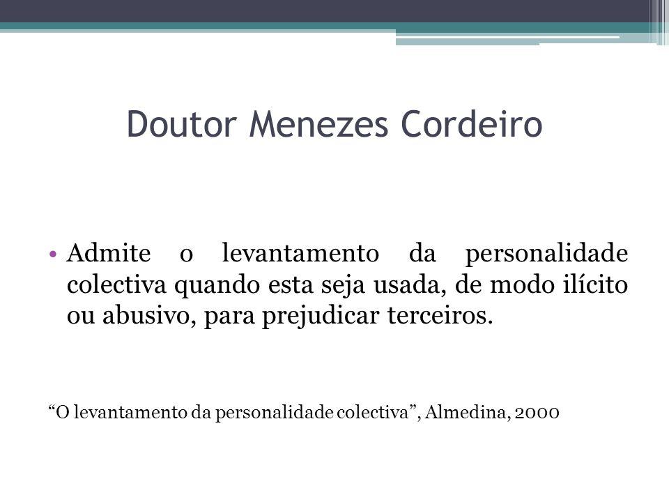 Doutor Menezes Cordeiro