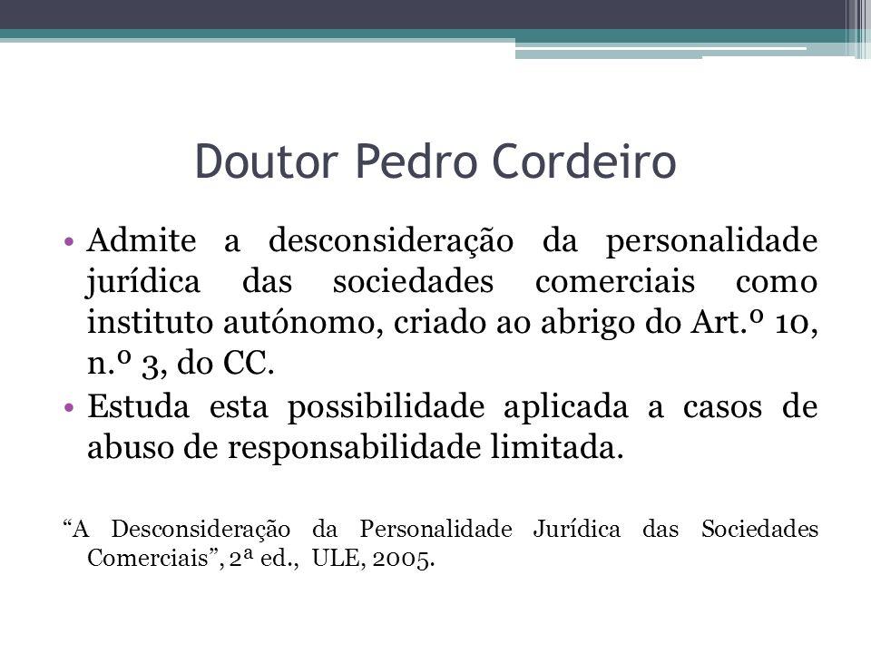 Doutor Pedro Cordeiro