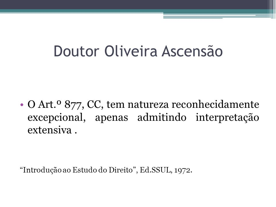 Doutor Oliveira Ascensão
