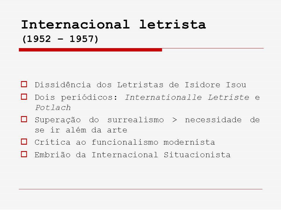 Internacional letrista (1952 – 1957)