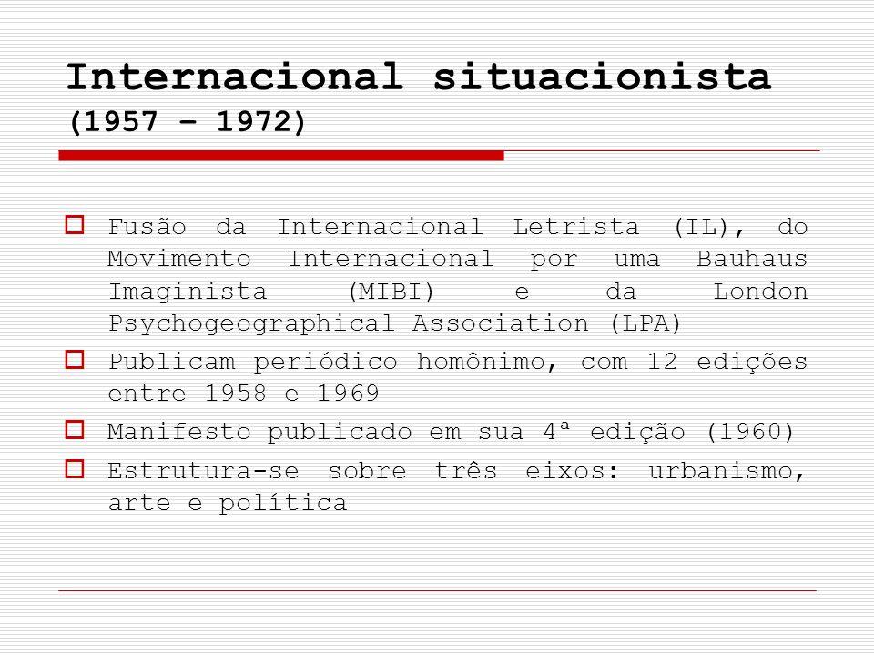 Internacional situacionista (1957 – 1972)