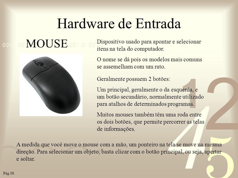 Hardware de Entrada MOUSE