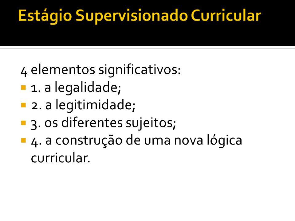 Estágio Supervisionado Curricular