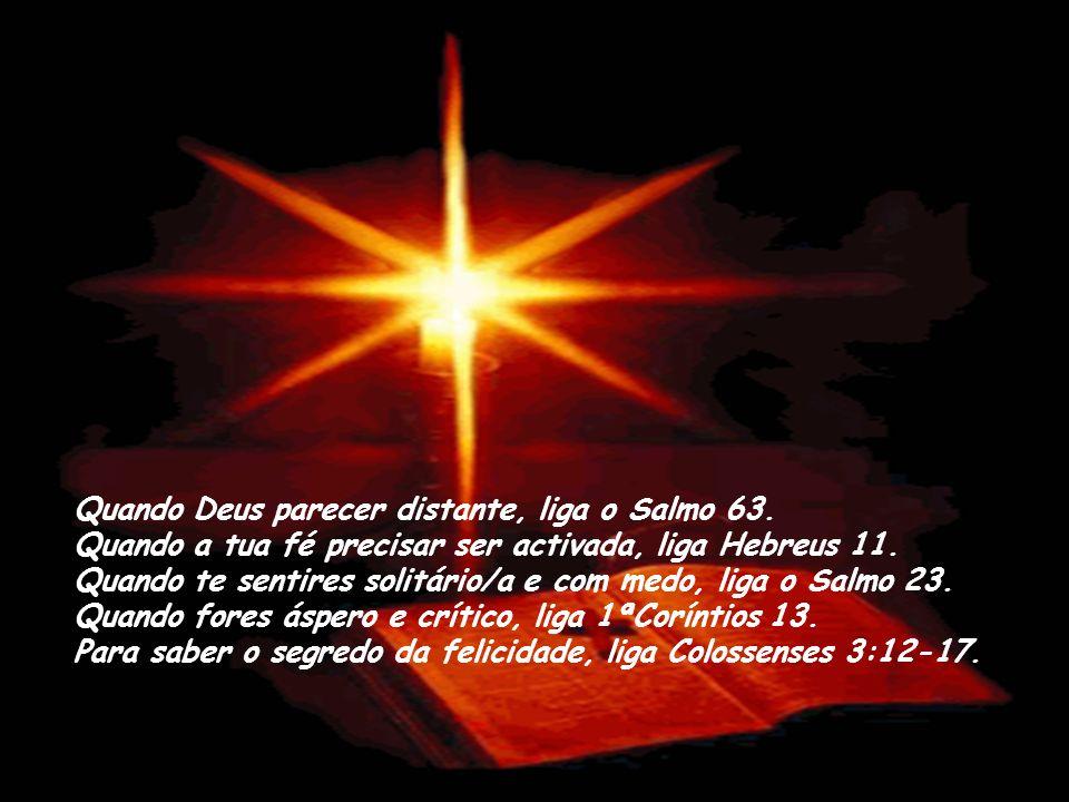 Quando Deus parecer distante, liga o Salmo 63