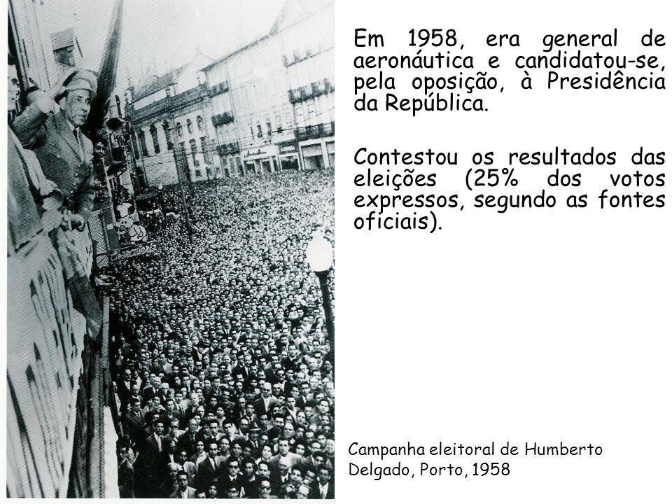 Em 1958, era general de aeronáutica e candidatou-se, pela oposição, à Presidência da República.